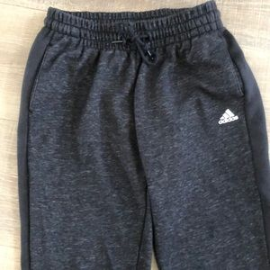 Adidas woman's sweatpants in small.